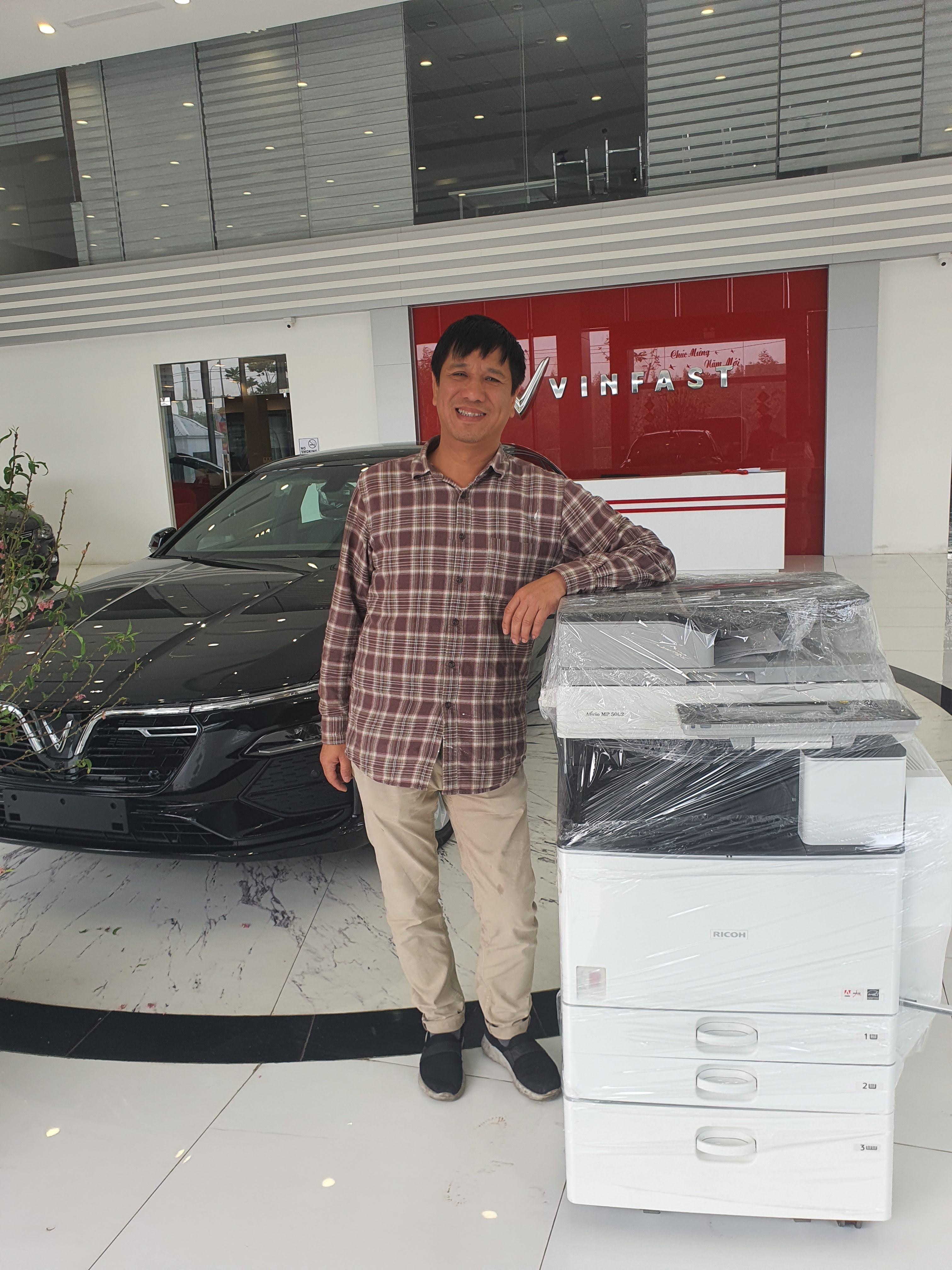 Cho thuê máy photocopy màu uy tín tại Hà Nội