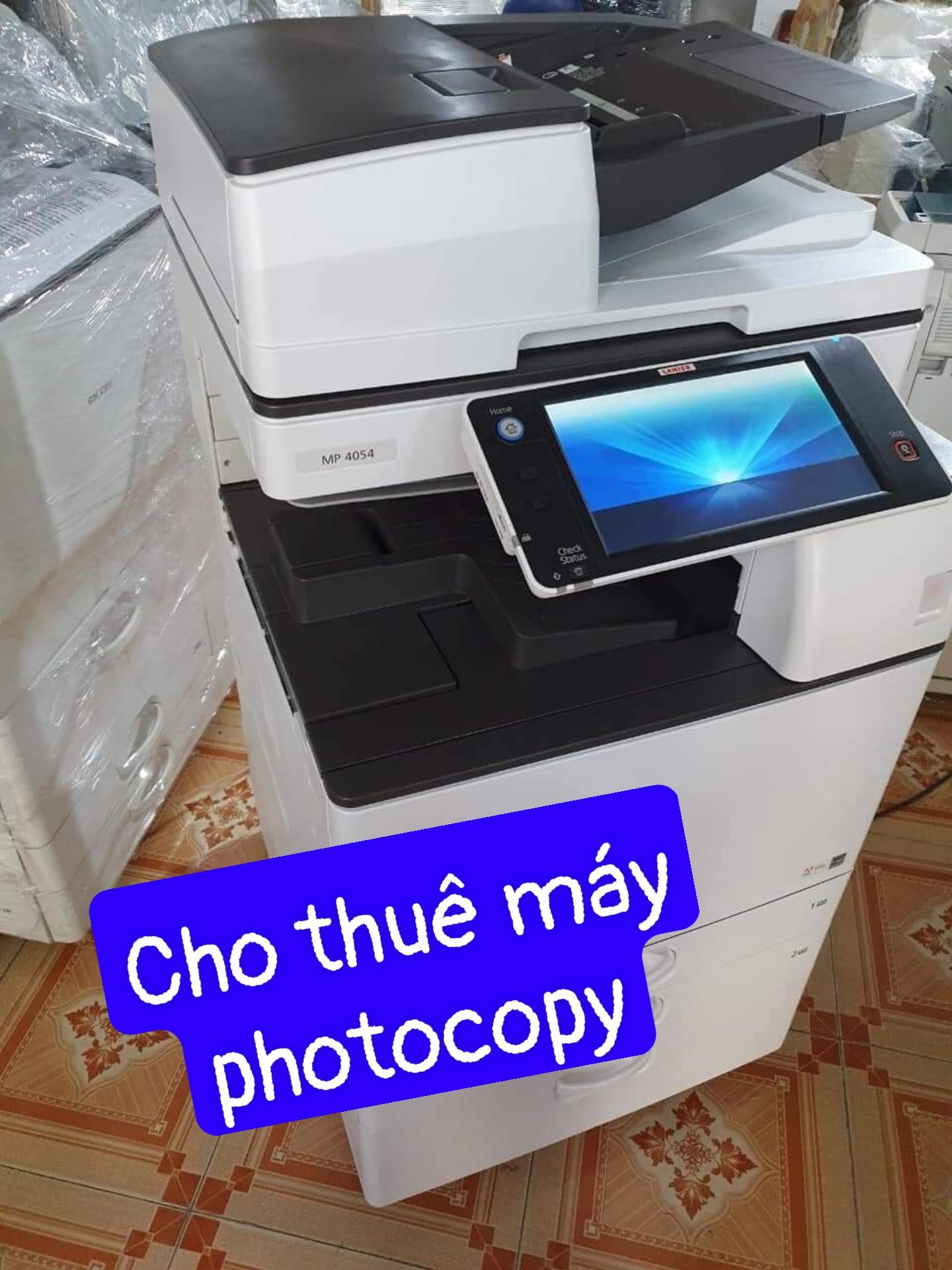 Cho thuê máy photocopy ricoh mp 4055/5055